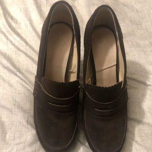 Brown Oxford High Heels